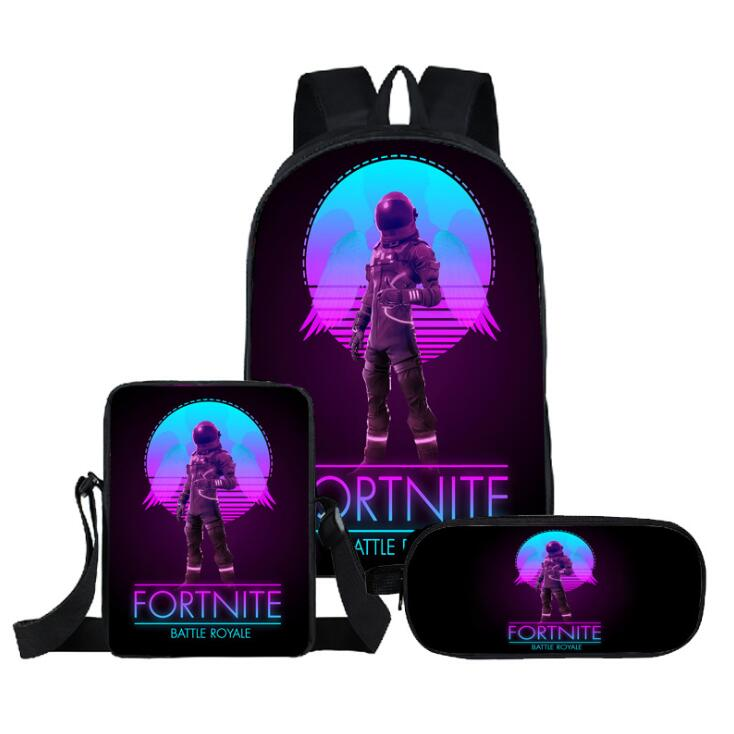 New Game Battle Royale Backpack Children School
