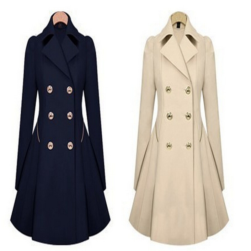 Aliexpress.com : Buy Fashion Princess Womens Slim Cute Coat Long ...