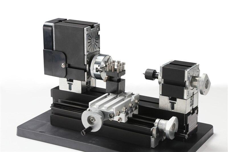 Металл Мини Токарные станки машины tz20002mg с 12000r/мин Мощный 60 Вт Двигатель DIY Инструменты Chrildren подарок
