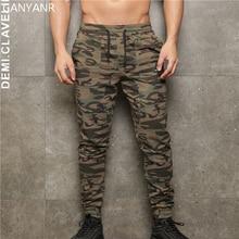 GANYANR Running Pants Men Training Gym Leggings Jogging Sport Fitness Basketball Athletic Football Sweatpants Elastic Workout