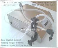 3 3000ml Water Softdrink Liquid Filling Machine Digital Control GFK 160