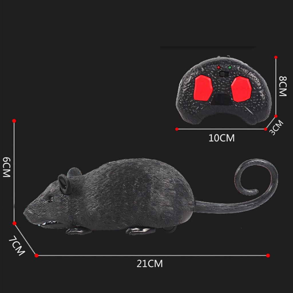 Image 5 - Children Tricky Toys Infrared Induction Electric Remote Control Mouse Pet Toy practical and convenient Remote control toys-in RC Robots & Animals from Toys & Hobbies