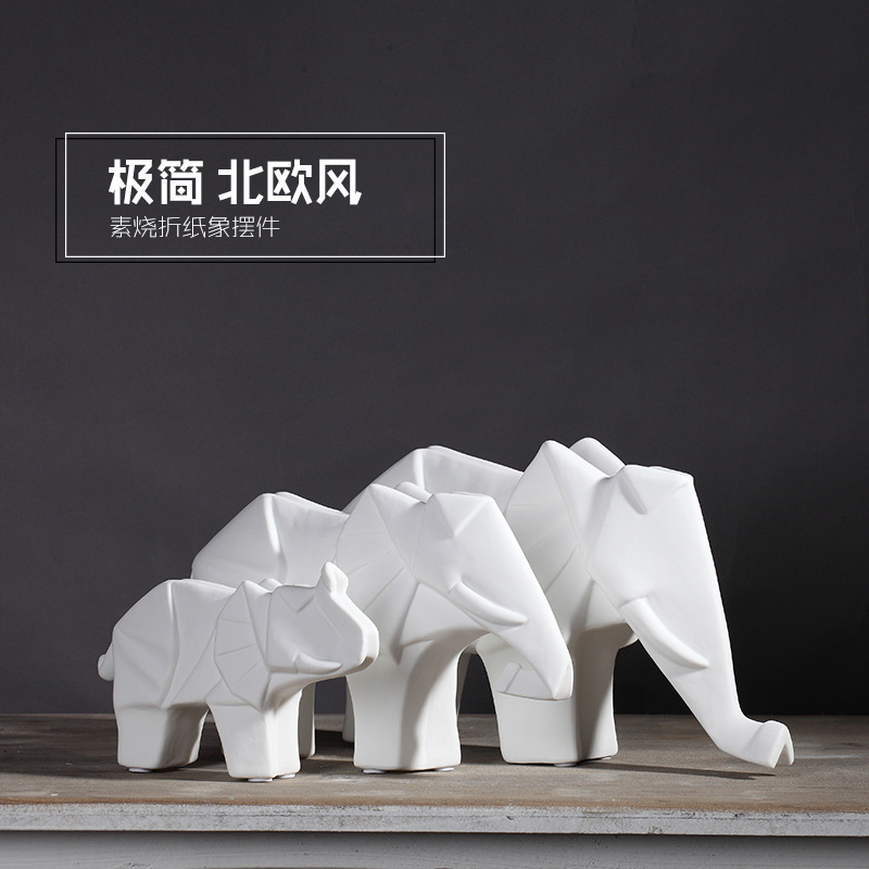 acquista all'ingrosso online elefante di ceramica da grossisti ... - Arredamento White Elephant
