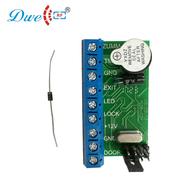 free shipping 12v rfid access control standalone mini wiegand controller  with led and buzzer