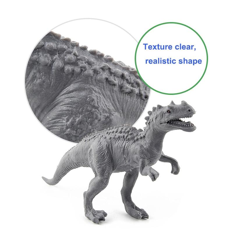 (8/12/20 հատ / լոտ) Dinosaur Toy Model Model Plastic - Խաղային արձանիկներ - Լուսանկար 6