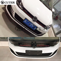 High quality golf 7 MK7 PP GTI Style Auto Car Front Bumper For VW Golf 7 Standard Bumper 2014