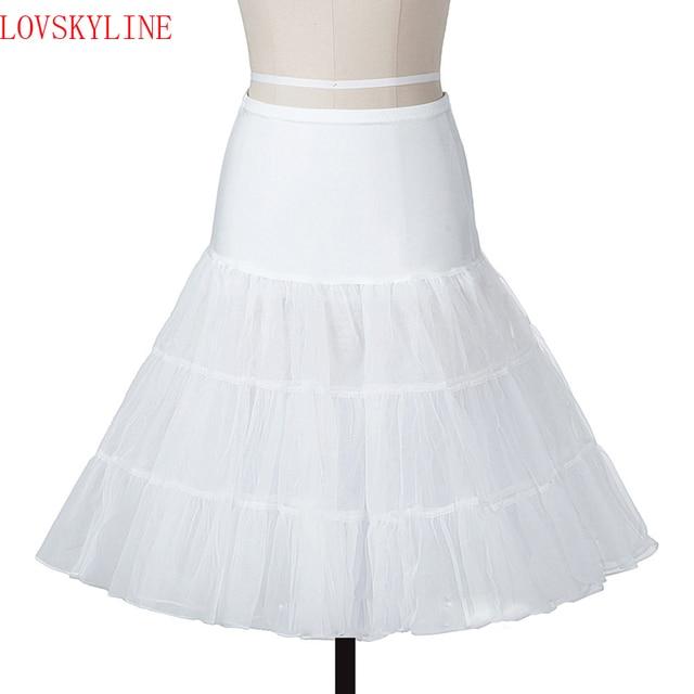 9d12b399c9b7 Saias do vintage Preto Branco 14 Cores Curto Vestido Tutu Crinolina Nupcial  Do Casamento Petticoat Underskirt