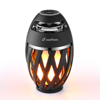 zanflare A1 Flame Bluetooth Speaker Lamp Novelty Lighting Bluetooth speaker Fashion design perfect gift