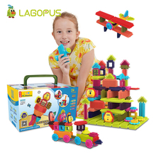 lagopus Building Blocks Mane Soft Toys for Children Construction Kids Toy