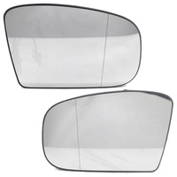 2X Door Side Wing Mirror Glass Wide Angle Heated Fit for Mercedes Benz W220 S500 W215 S600 CL600 Coupe