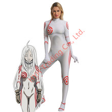 Deadman Wonderland Shiro Cosplay disfraz mujer Halloween uniforme traje Halloween carnaval vestido de lujo(China)