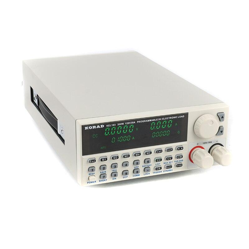 KORAD elétrica Profissional de programação de Controle Digital DC Carga 30A Cargas Eletrônicas Testador de Carga Da Bateria 300 W 120 V 110 V -220 V