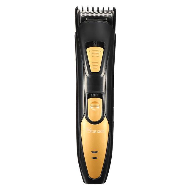 Gunting Pemangkas Rambut Elektrik Alat Cukur Pria Anak Barber Salon Rumah  Menggunakan Isi Ulang 220- 3a6f2b5a3e