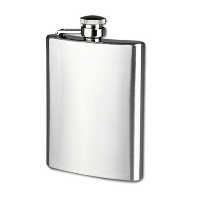 4oz 5oz 6oz 7oz 8oz 9oz 10oz 18oz British fashion Stainless Steel Pocket Hip Flask Alcohol Whiskey Liquor Screw Cap for Men