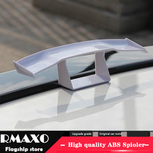 For General Car tail mini spoiler modified GT small tailwing mini with no punch in the ABS spoiler character decoration movem(China)