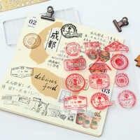 vintage red postmark transparent silicone clear stamp for scrapbooking DIY craft decoration stamp kids stationery