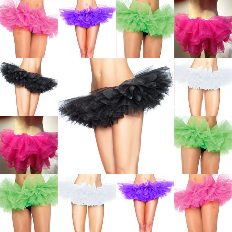 9 color organza tutu skirt sexy corset costume petticoat halloween party women corsets tulle skirt adult - Halloween Petticoat