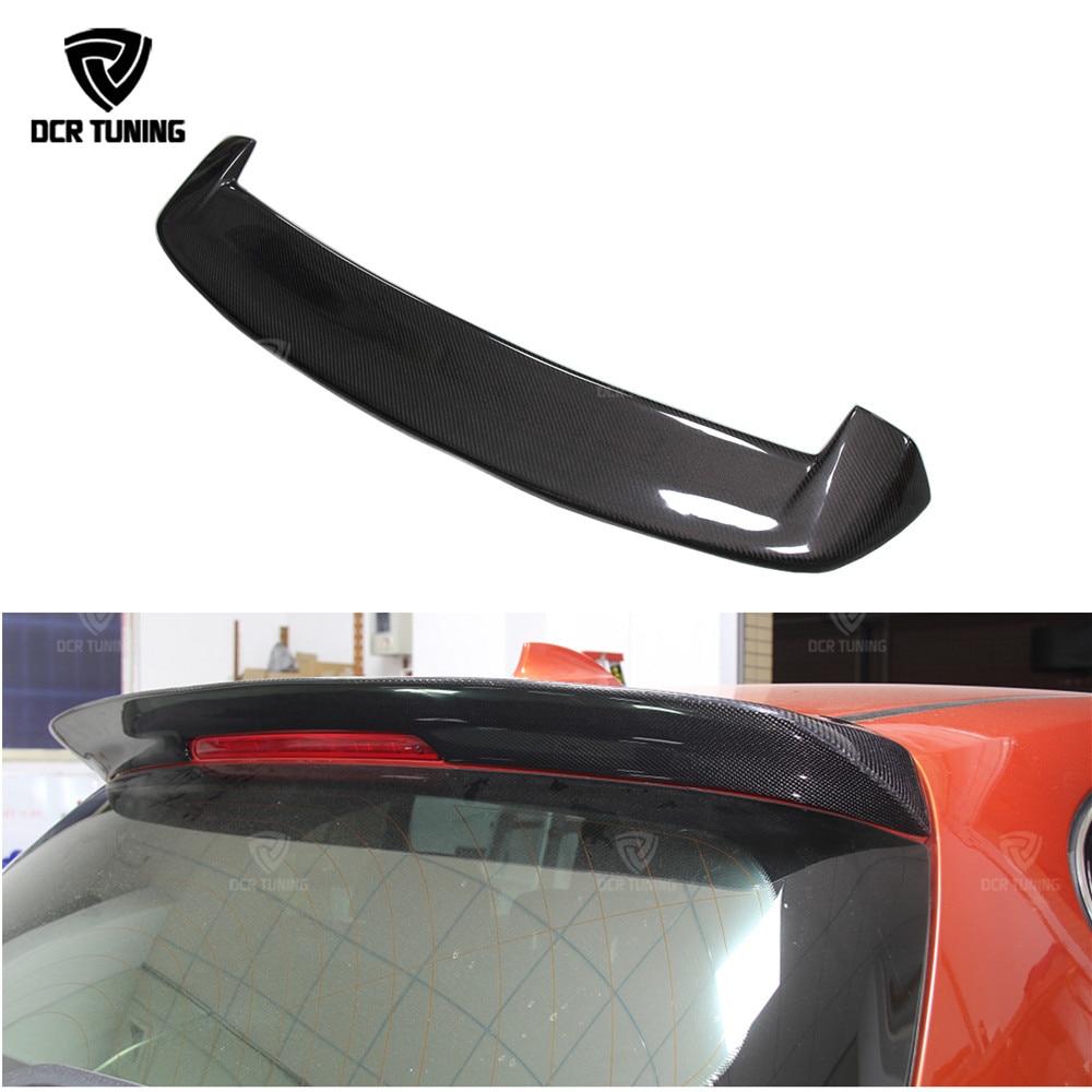 Për BMW F20 Spoiler Carbon 2012 2013 - 2018 116i 118i 125i F20 F21 Spoiler 3D stil Design Design Fiber Fiber Carbon Rear Spoiler karboni