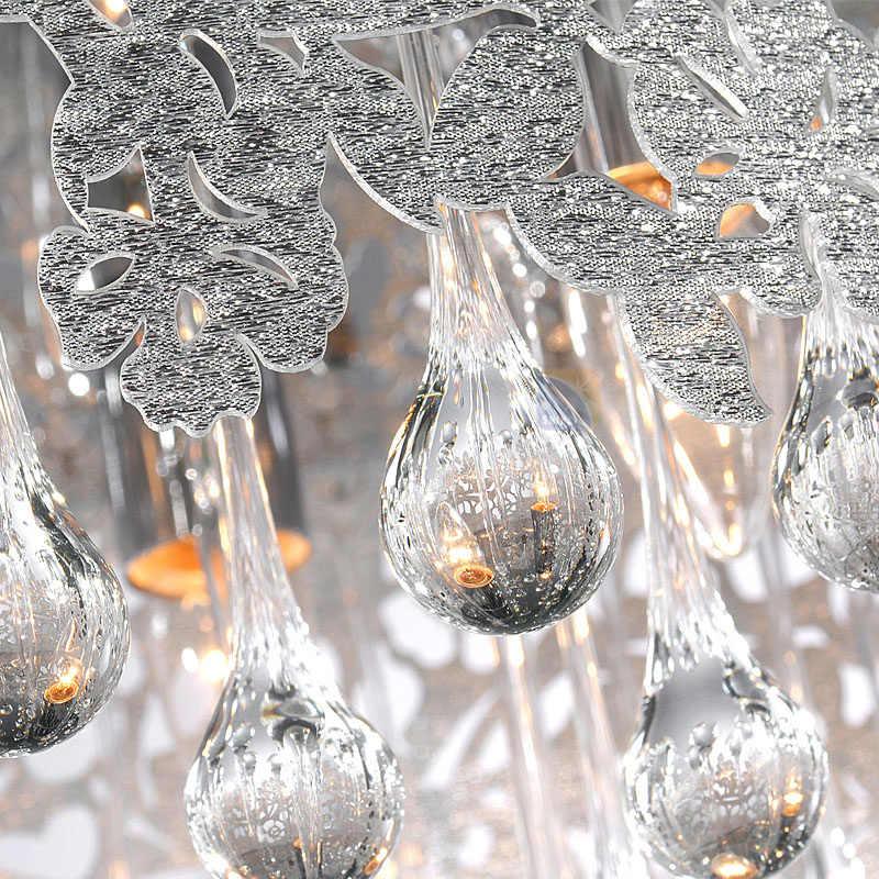 Горячее предложение! Распродажа! Бесплатная доставка светодиодный хрустальный потолочный светильник AC90-260V Диаметр 40 см E14 * 3 Источник света номер/Обеденная потолочный светильник