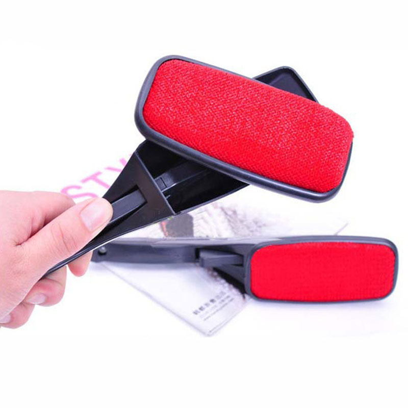 New Pet Hair Remover Magic Lint Brush Magic Lint Fluff Fabric Clothes Dust Brush Pet Hair Remover Cleaner Swivel 26cm Length