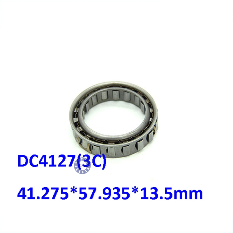 Free shipping DC4127(3C) sprag free wheels One way clutch needle roller bearing Forward Sprag Dual Cage 41.275*57.935*13.5mm mz15 mz17 mz20 mz30 mz35 mz40 mz45 mz50 mz60 mz70 one way clutches sprag bearings overrunning clutch cam clutch reducers clutch