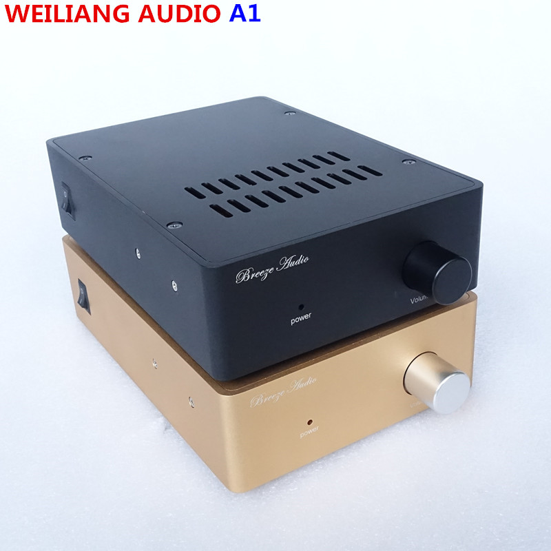 weiliang audio & Breeze audio Music Box A1 HIFI power Amplifier audio amplifier Have a feeling of vacuum tube amplifiers