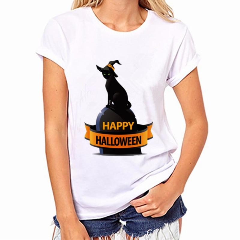 Black Cat, Halloween Variety Women's T-Shirt