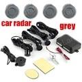 1Set Car Parking Sensor Assistance Reverse Backup Radar buzzer sound System 4 Sensors Free shipping 12V 9 colors for option