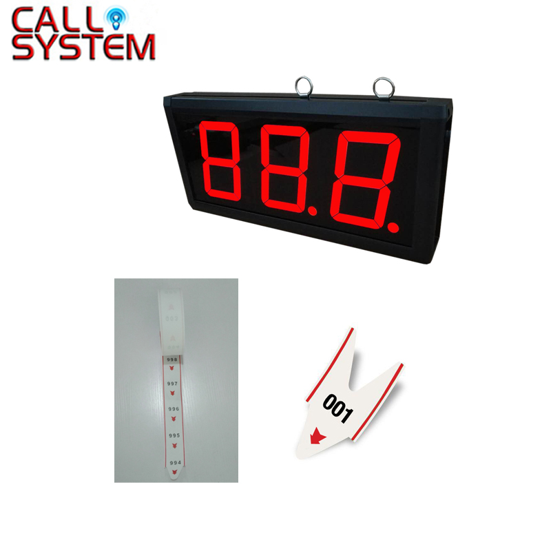 1pc 3-digit display K-403 with 2pcs ticket dispenser paper roll Wireless queue management system 100 pcs ld 3361ag 3 digit 0 36 green 7 segment led display common cathode