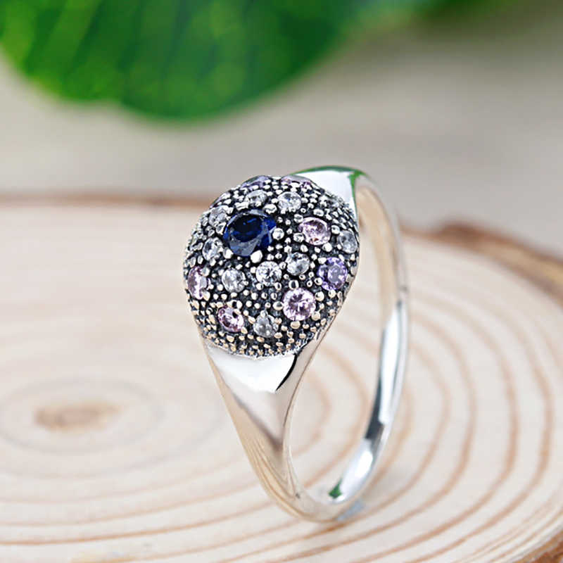 1a702ba0d ... Dropshipping Silver Color My Princess Queen Crown Engagement Pandora  Ring with Clear CZ For Women Wedding ...
