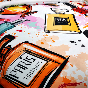 Image 2 - In kỹ thuật số Dòng Túi Đựng Chăn Màn Pillowcace Chăn Ga Gối Chăn Mền Thoải Mái Bao Đơn Đôi Nữ Hoàng Vua Tùy Chỉnh #/J