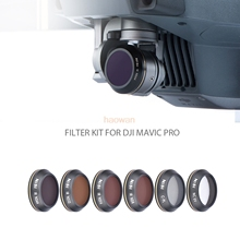 cpl+mcuv+nd8+nd16+nd32+nd64 nd Lens Filter Protector for DJI mavic pro camera