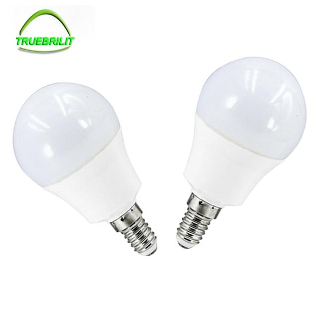 LED lampe SMD 2835 led E14 Dimmbare Glühbirne 220 V 3 Watt 5 Watt 7 ...