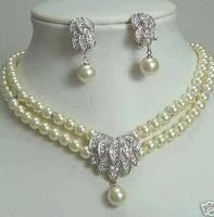 Beauty bead bridal necklace earring>>> women jewerly Free shipping