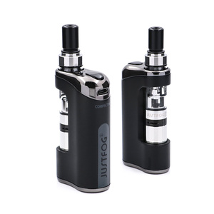 Image 3 - In voorraad E Sigaret JustFog Compact 14 Kit 1500mah ingebouwde batterij met 5PCS Justfog Coil vs Justfog Q16 /Q14 Kit