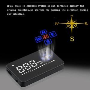 Image 5 - Kompatibel mit Alle Auto Geschwindigkeit Projektor GPS Digitale Auto Tacho A2 Elektronik Head Up Display Auto HUD Windschutzscheibe Projektor