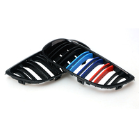 1pair Grille For BMW 3 series E92 E93 06 09 2 doors gloss black Car Wide Kidney Grill Racing Grill Car styling 8P