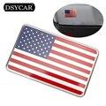 * DSYCAR Metal American US Flag Moto Car stickers logo Emblem Badge Car Styling For lada Bmw Fiat Ford Audi Honda Toyota volvo 2