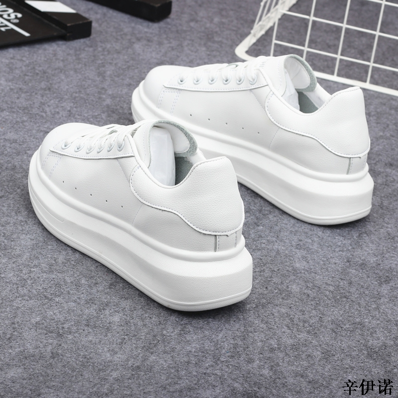 New Fashion Vulcanize Shoes Trainers Women Sneakers Casual Shoes Basket Femme PU Leather Tenis Feminino Zapatos Mujer Plataforma 53