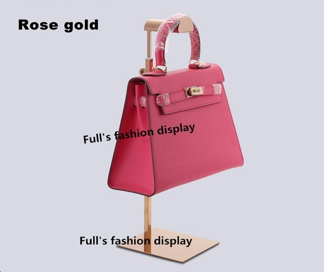 835e042025 Counter Adjustable Handbag Stand Display Metal Handbag Display Rack Women  Bag Display Holder Hanger Clothing store