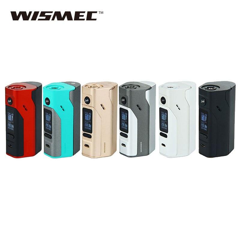 Original wismec Reuleaux RX2/3 TC 150 W 200 W caja de cigarrillos electrónicos mod sin batería 18650 o e-cig evaporador vs RX200S mod