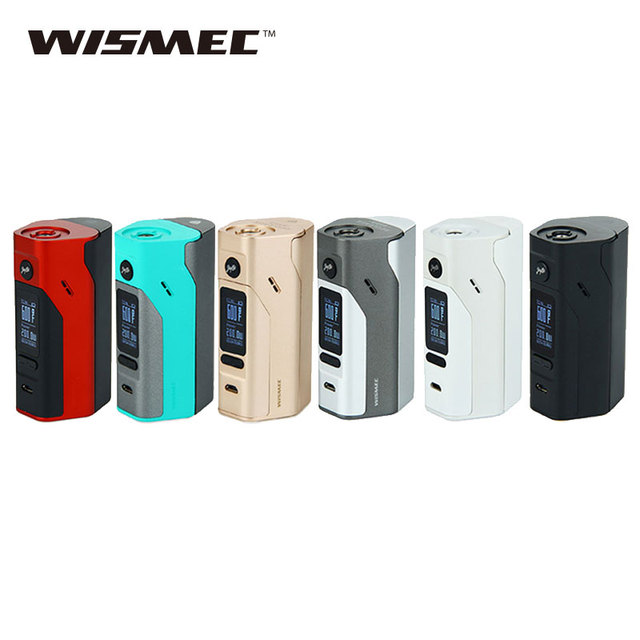 Оригинальный wismec Рел RX2/3 TC 150 Вт 200 Вт электронная сигарета поле mod без батареи 18650 или E -сигареты испарителя VS RX200S mod