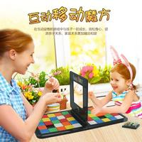Rubiks Race Game Versus Magic Block Game Puzzle Cube Toy For Children Intelligence Toy Parent child Interaction Game