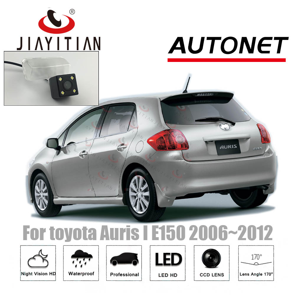 JIAYITIAN Rear View Camera For Toyota Auris 1 E150 2006~2012 CCD/Night Vision Reverse Camera Parking Camera License Plate Camera