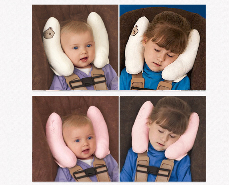Headrest Baby Infant Car Travel Sleeping Pillow Head Neck Cartoon Seat Covers In From Mother Kids On Aliexpress
