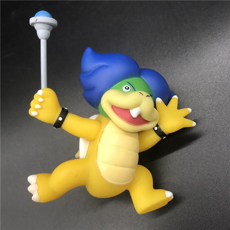 8 13cm Super Mario Bros Bowser Koopa Yoshi Mario Maker Luigi Mushroom Fishing Wario PVC figure Kids Anime model Toys Gift in Action Toy Figures from Toys Hobbies