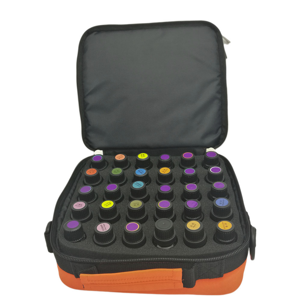 Storage-Box Make-Up-Bags Essential-Oil Cosmetic-Cases Trave-Organizer Zipper Travel Portable