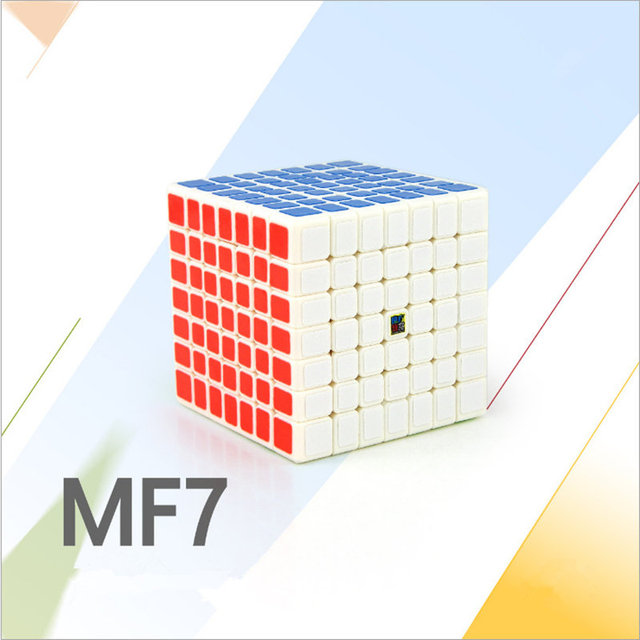 Moyu 7x7 CUBE Classroom MF7 Magic Cube 7Layers Cube Seven Layer Black Cube Puzzle Toys For Children Kids gift toyPuzzles & Games