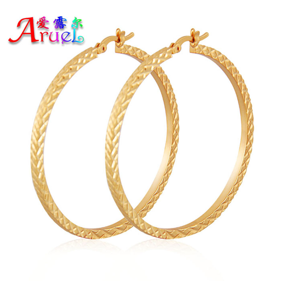 Fashion Jewelry Brincos Ouro Gold Color Basketball Wife Big Large Hoop  Earrings For Women Pendientes Mujer