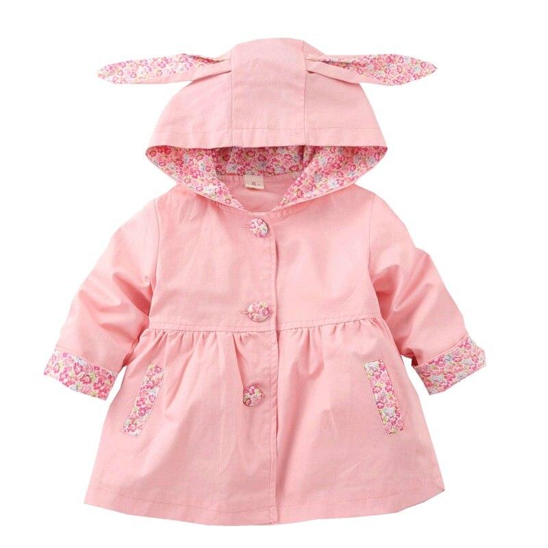 bebe com capuz meninas casaco 1 4 anos criancas jaqueta de algodao roupas para meninas primavera